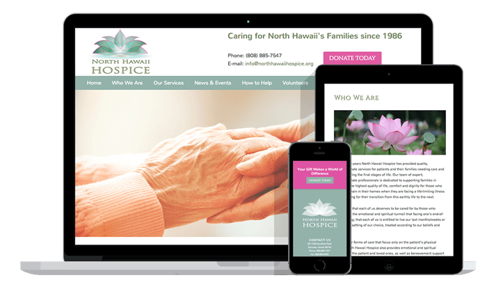 North Hawaii Hospice Redesign
