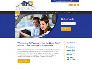 Website Design for Online Insurance Quoting Service